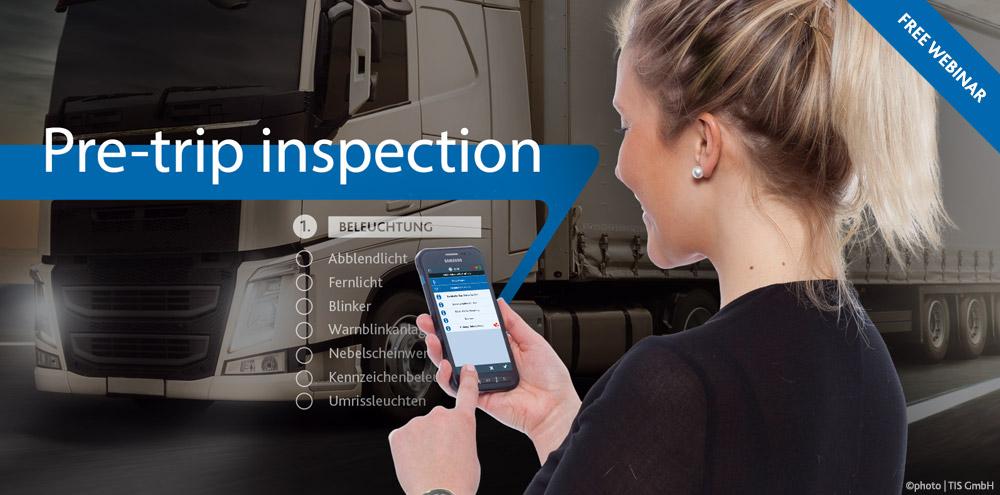 Free Webinar | Pre-trip inspection in TISLOG