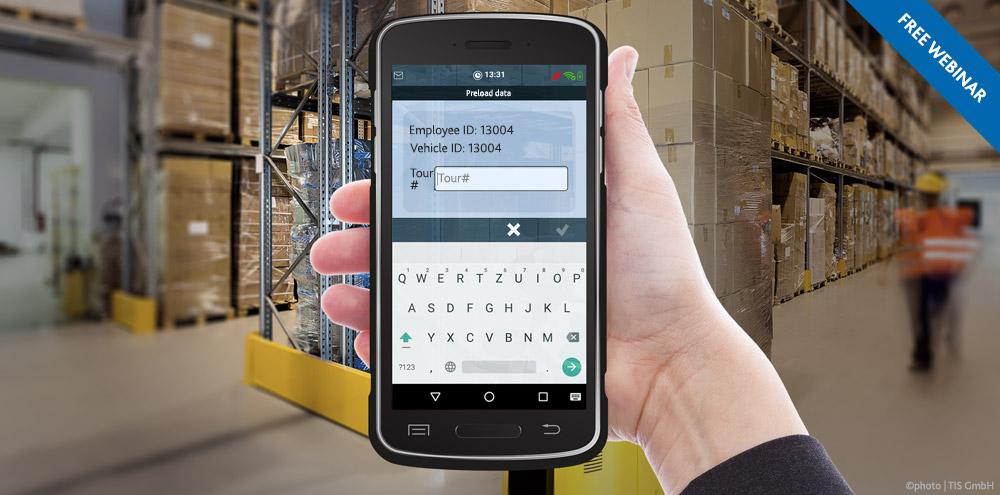 Free Webinar | Load Scanning in TISLOG logistics software