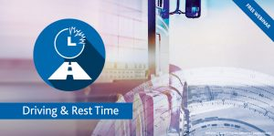 Free Webinar | Driving & Rest Time in TISLOG logistics software