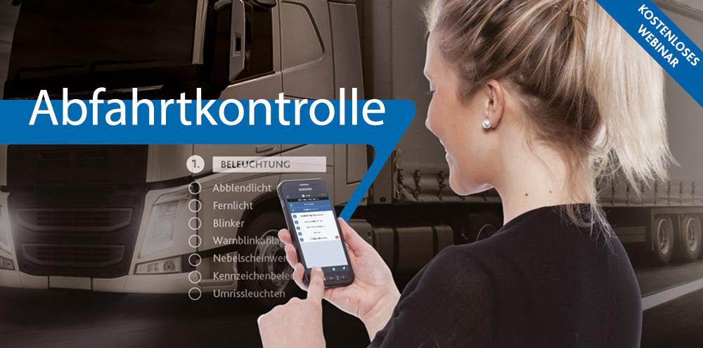LKW-Abfahrtkontrolle | Telematik-Webinar